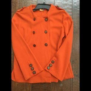 Tory Burch Double Breasted Sweater 001